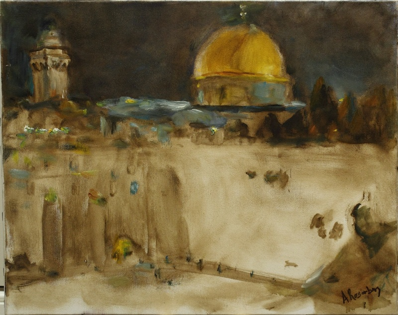 The Kotel at Night